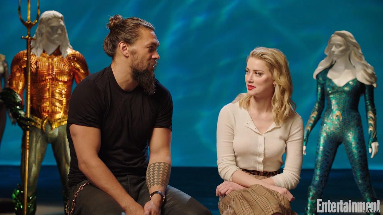 The real reason Amber Heard hesitated to take her Aquaman role