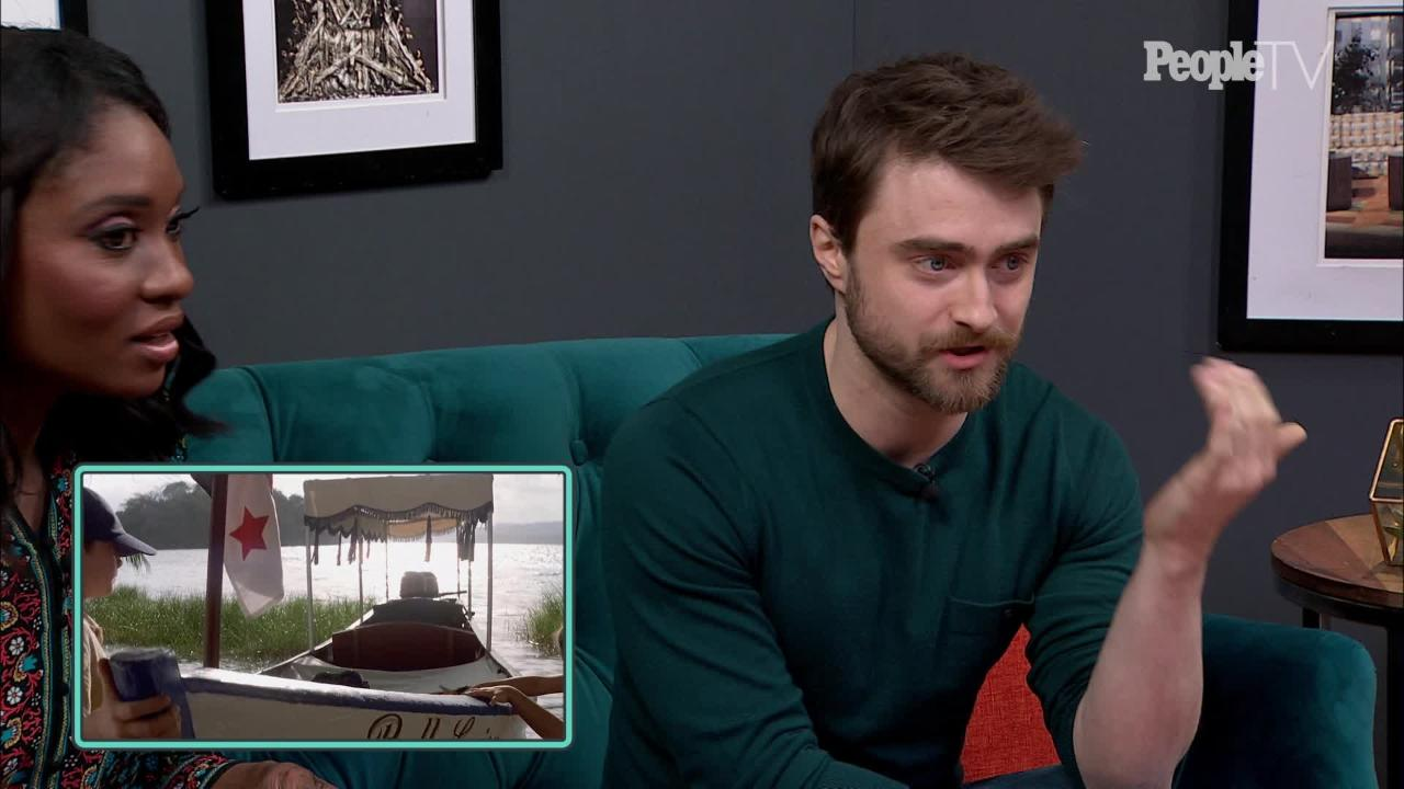 Daniel Radcliffe reacts to watching his first pre-Harry Potter movie role again: 'It's crazy to see that!'