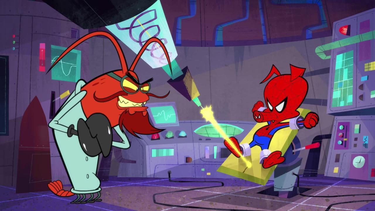 Watch an exclusive clip from Spider-Ham's new Spider-Verse short