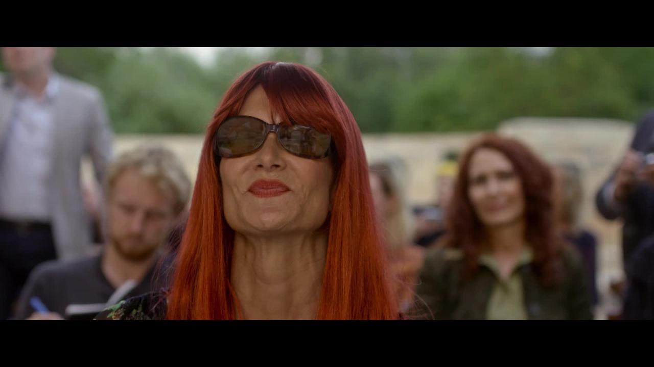 Kristen Stewart, Laura Dern, and their wigs buck toxic egos in J.T. LeRoy clip