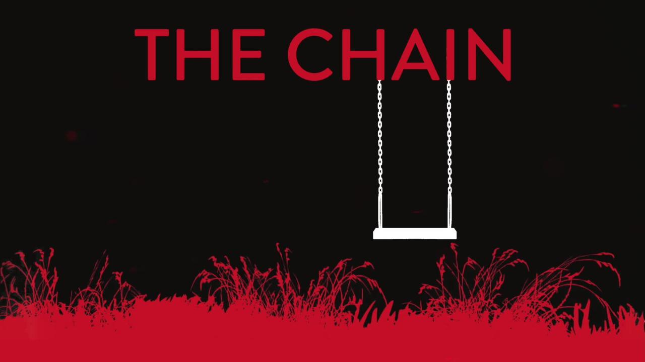 Watch the alarming book trailer for Adrian McKinty's The Chain