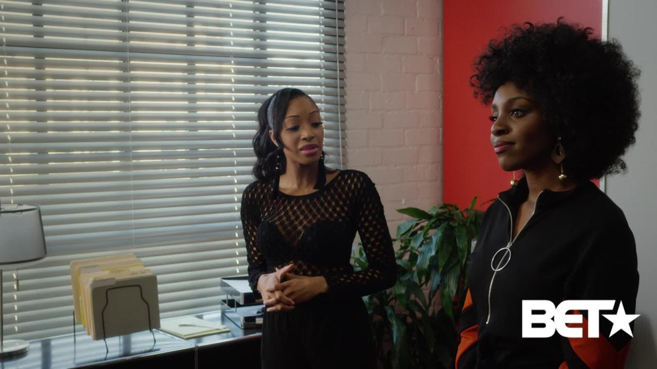 Workplace drama! Watch an exclusive scene from BET's new series Games People Play