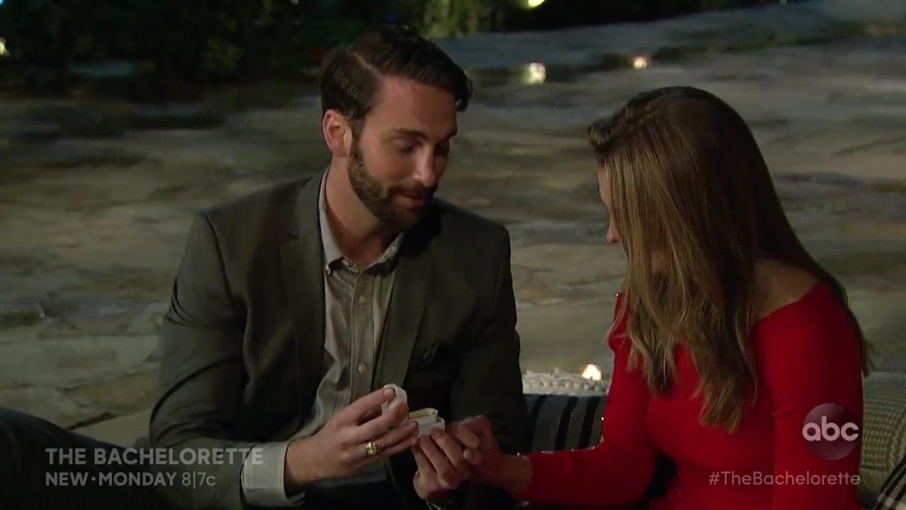 The Bachelorette sneak peek: Cam proposes a chicken nugget threesome