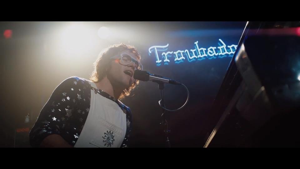 See Taron Egerton perform 'Crocodile Rock' in this exclusive Rocketman clip