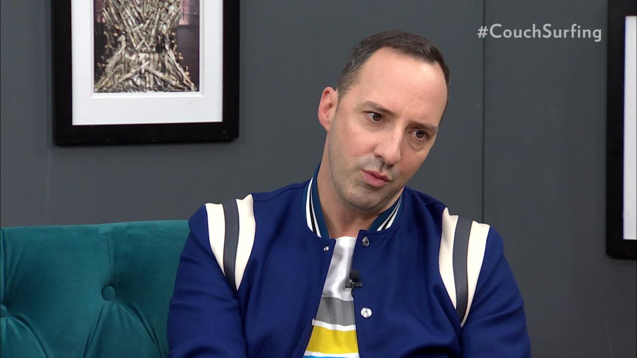Tony Hale on his awkward scene with a naked Kim Cattrall on Sex and the City