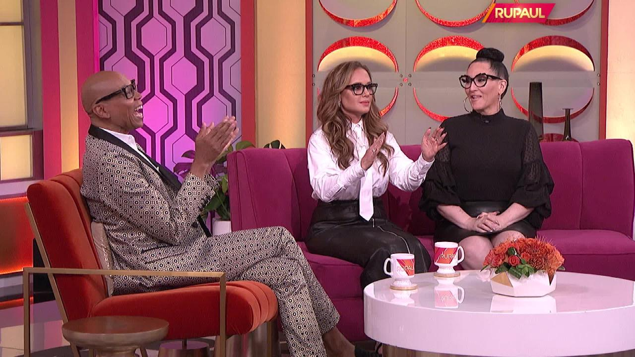 Leah Remini hilariously reveals why RuPaul doesn't turn his head on Drag Race