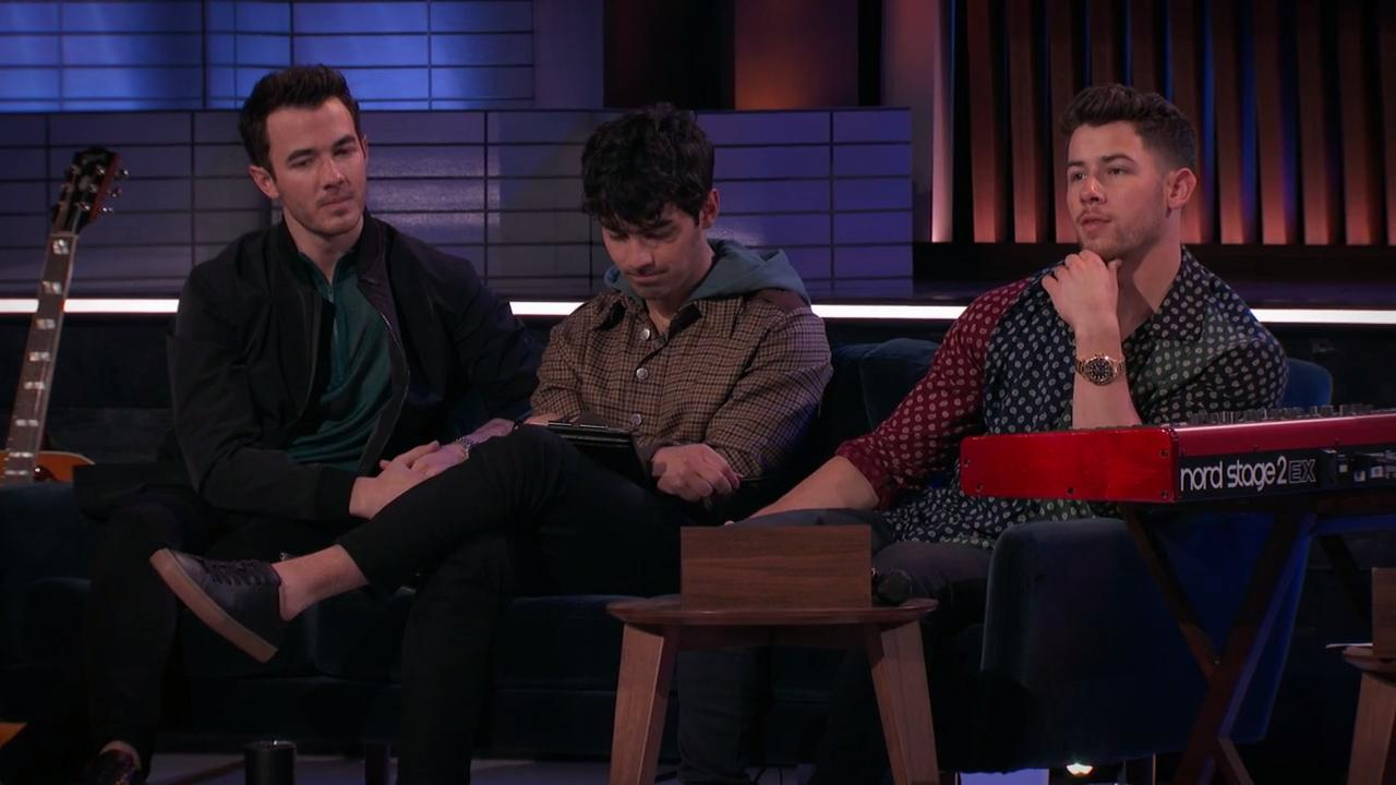 Watch the Jonas Brothers mentor a songwriter in exclusive Songland clip