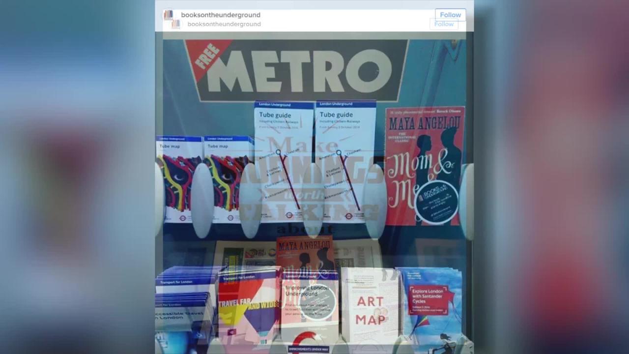Emma Watson Has Taken to Hiding Free Books on Public Transit