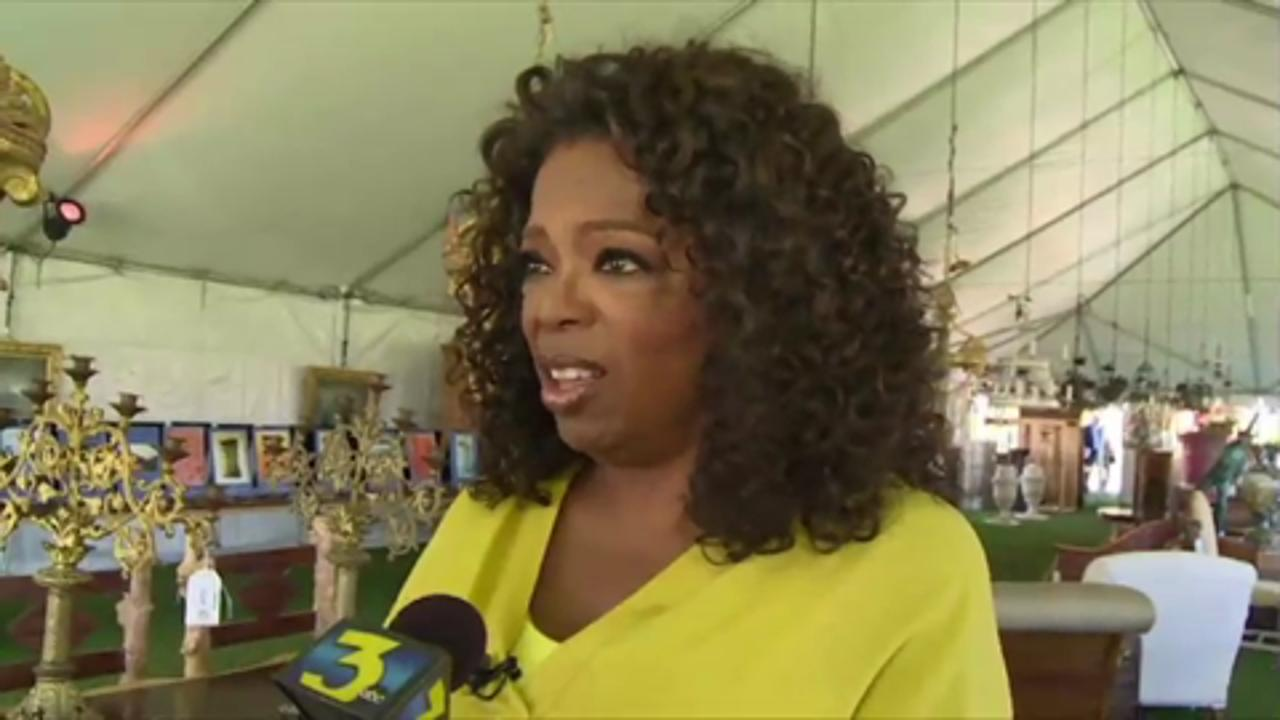 Oprah Winfrey's Yard Sale Fetches $600,000 for Charity