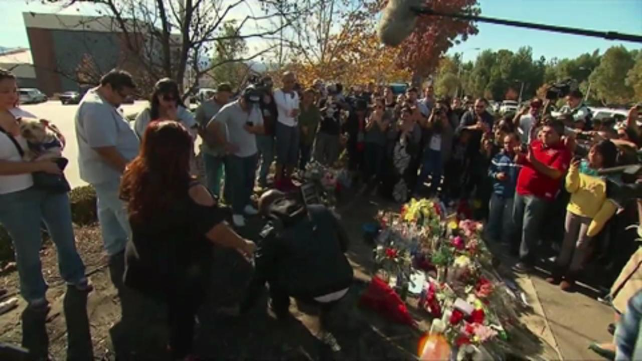 Tyrese Gibson Visits Paul Walker's Crash Site