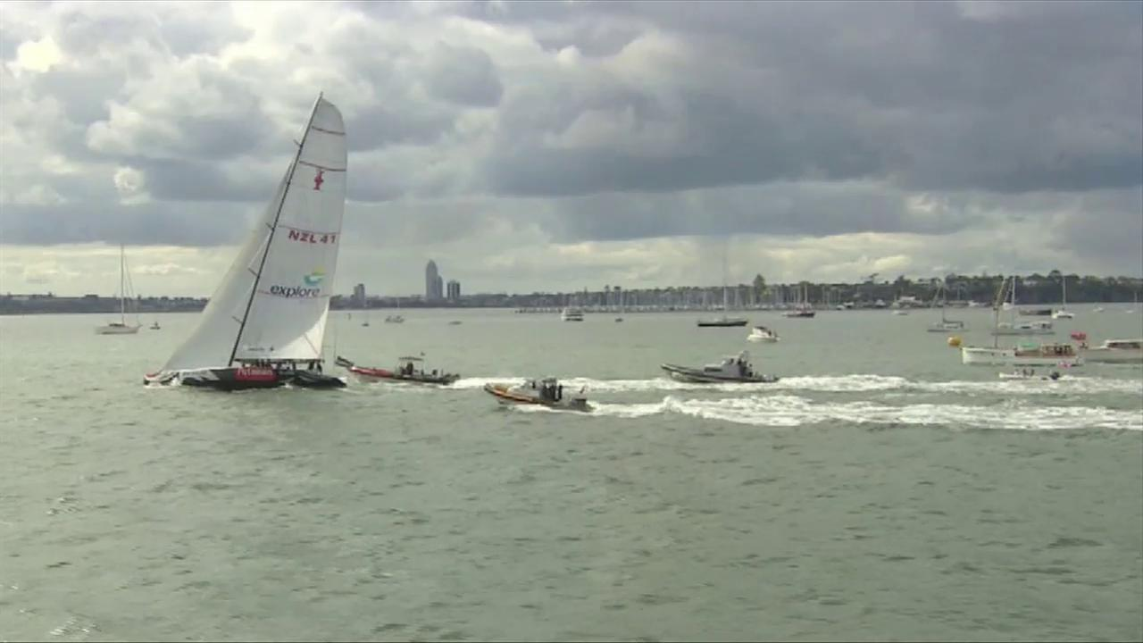 Kate Beats Prince William in New Zealand Yacht Race