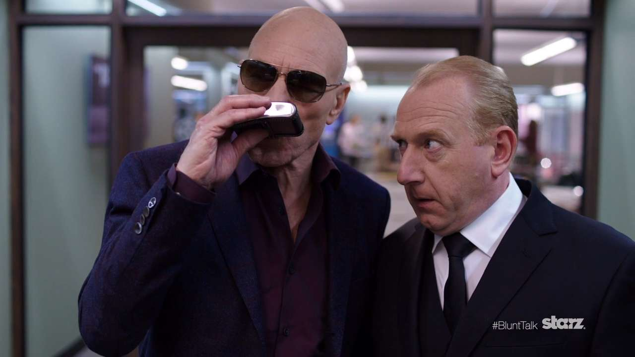 Blunt Talk Sneak Peek: Sir Patrick Stewart Channels His Inner Bad Boy