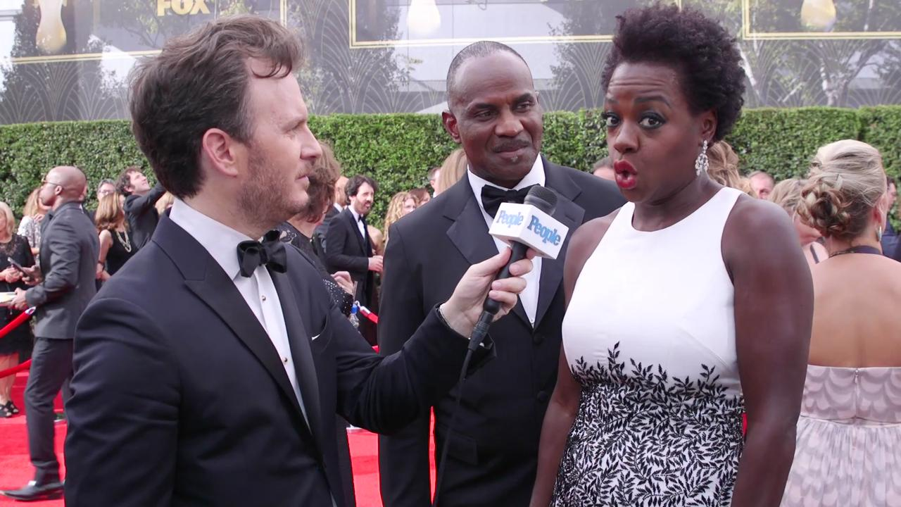 Viola Davis on Jon Hamm Congratulating Her on Her Historic Emmys Win: 'He's Pretty Handsome'