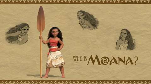 Meet the Next Disney Princess – and Get a First Look at Her Movie, Moana!