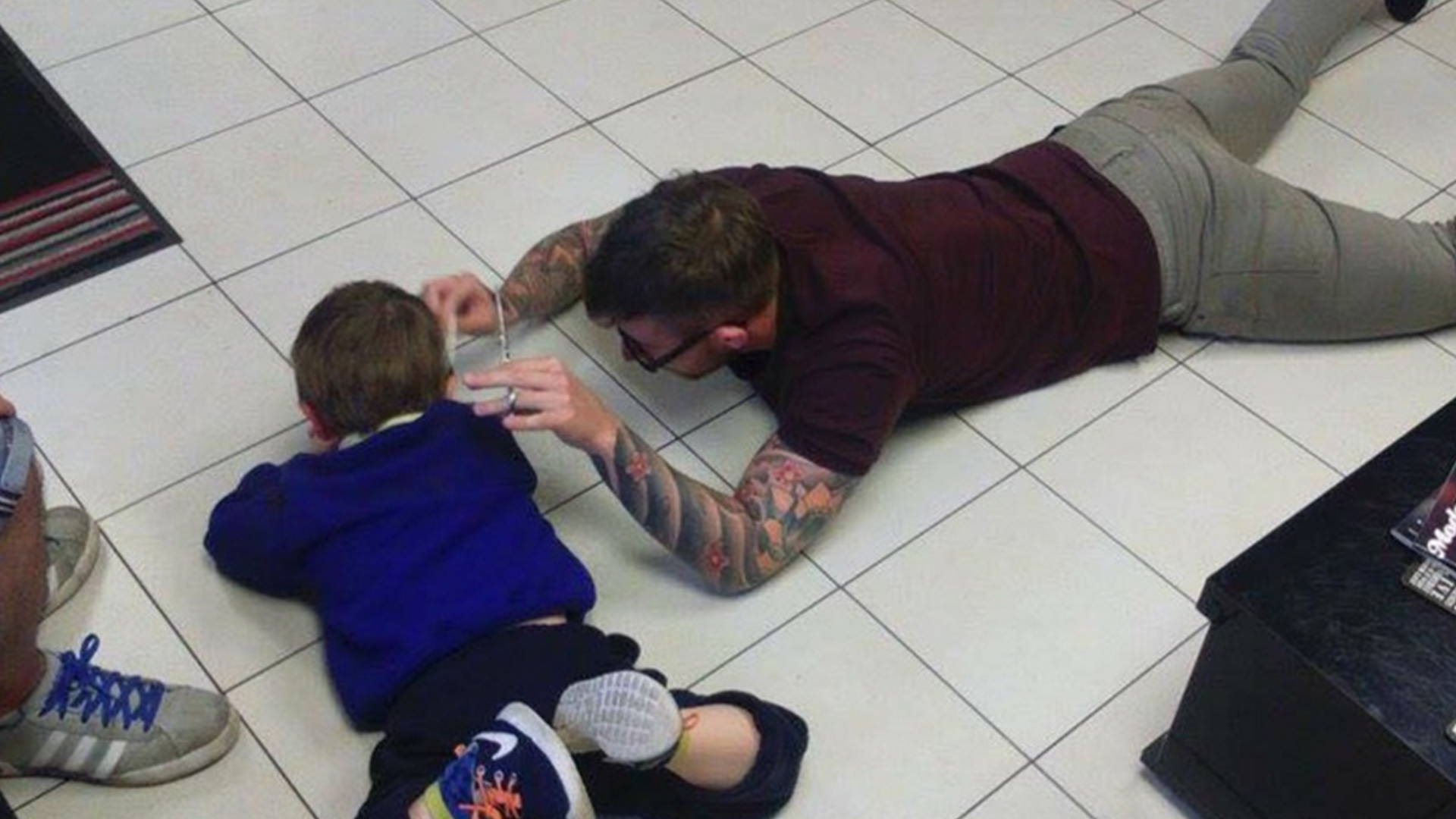 This British Barber Used Compassion – and Creativity – to Give a Haircut to a Boy with Autism