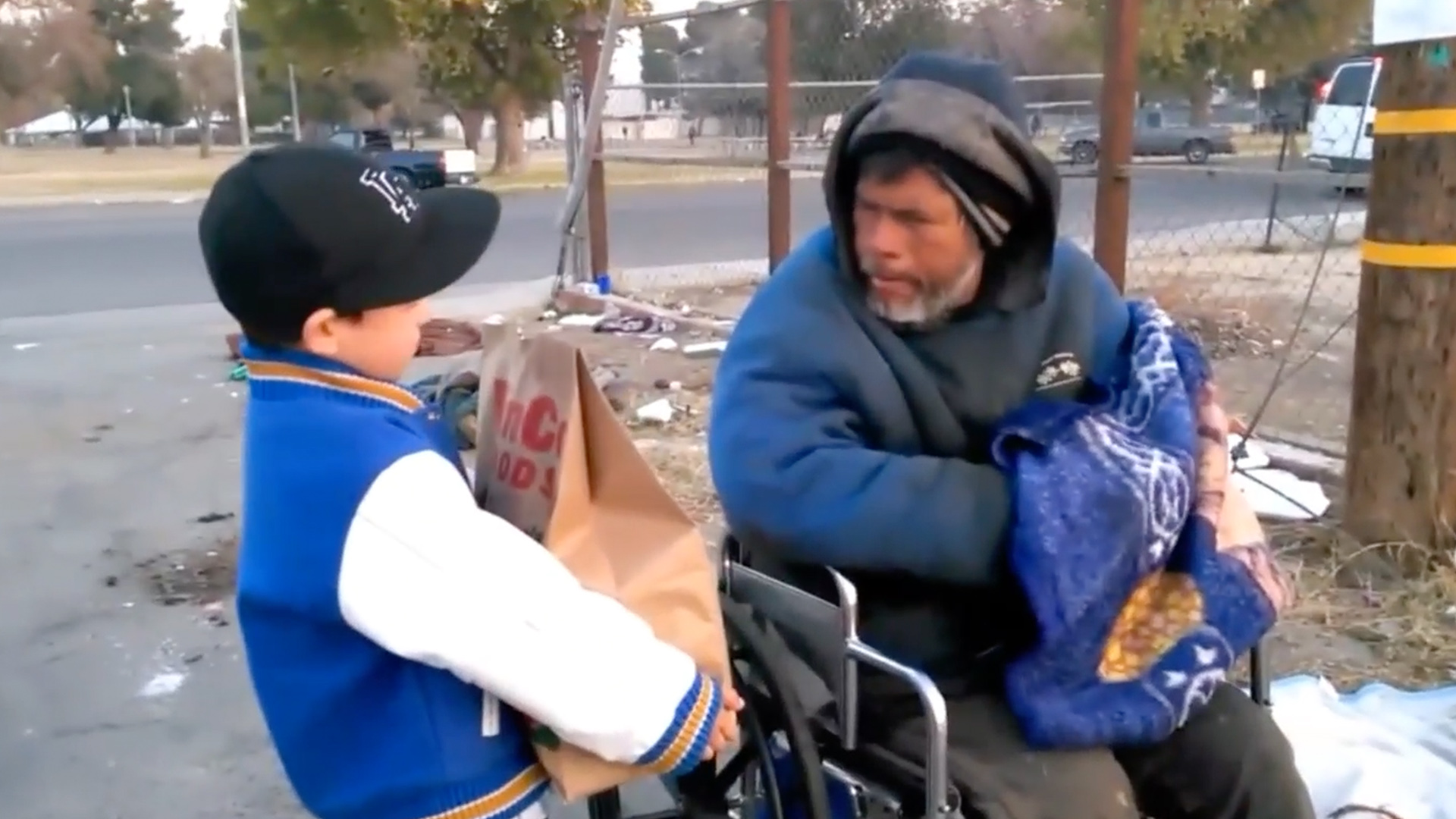 6-Year-Old California Boy Decides to Give up His Christmas Presents to Help the Homeless