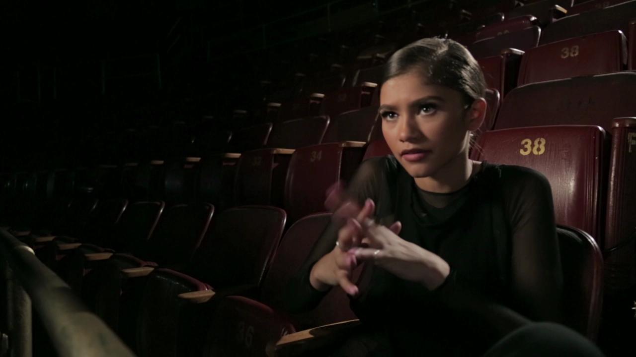 Watch a Sneak Peek of Zendaya's Upcoming 'Neverland' Music Video, Co-Choreographed by DWTS' Maksim Chmerkovskiy