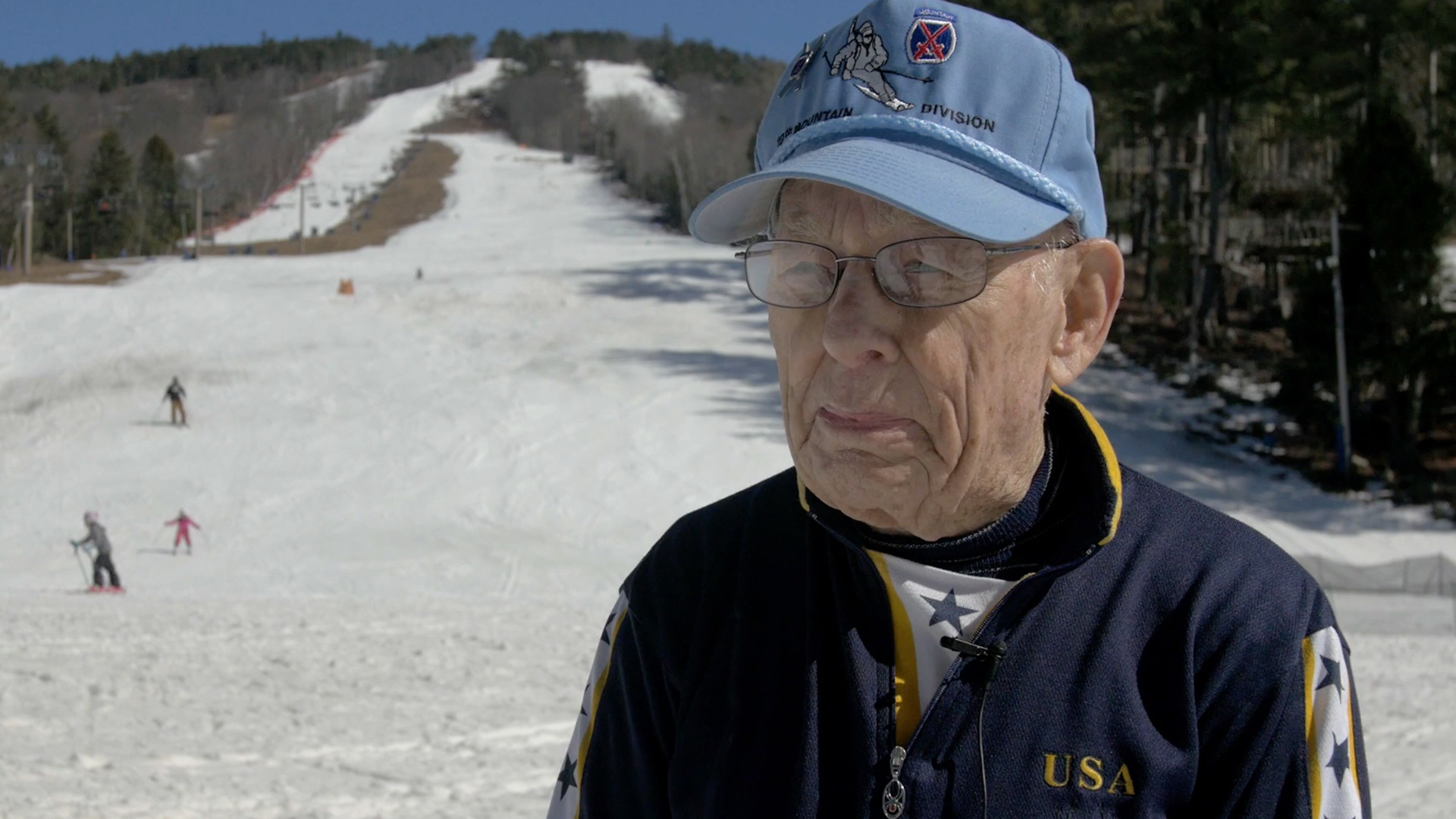 WATCH: 92-Year-Old WWII Veteran Still Competes in Ski Races: 'Skiing Is My First Love'