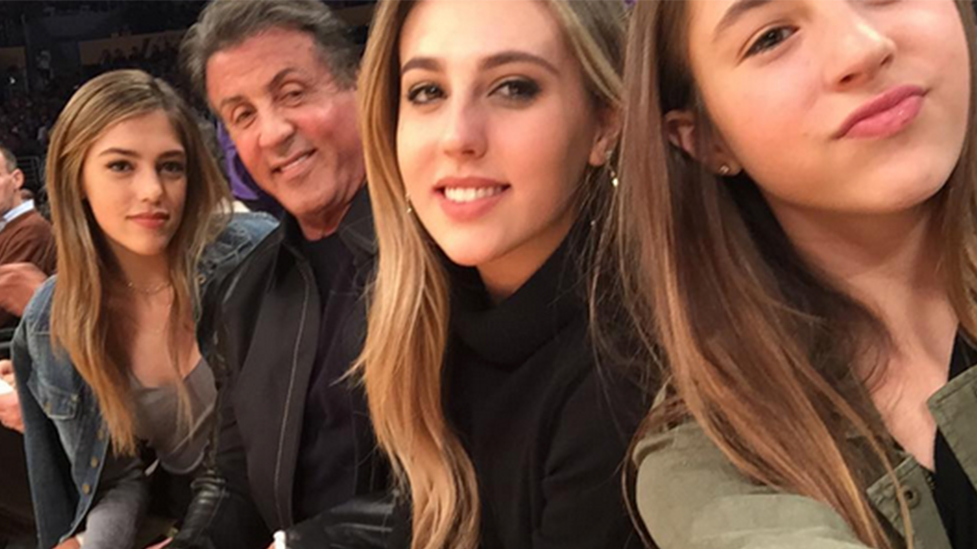 Sylvester Stallone Joined by Wife Jennifer and Daughter Sistine at Cannes Career Retrospective