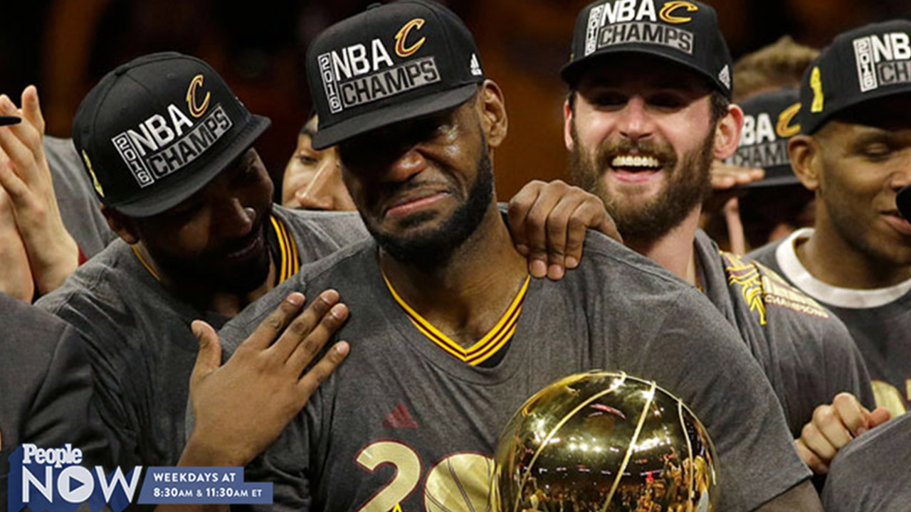 LeBron James Sobs as He Delivers Cleveland Its First Championship in 52 Years: 'This Is What I Came Back For'
