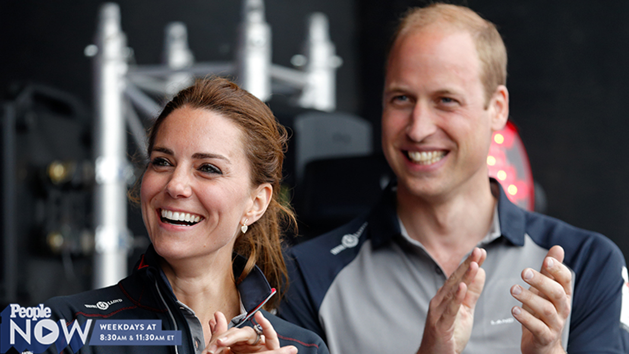 Prince William Jokes That Prince George Is 'Spoilt' During America's Cup Event with Kate