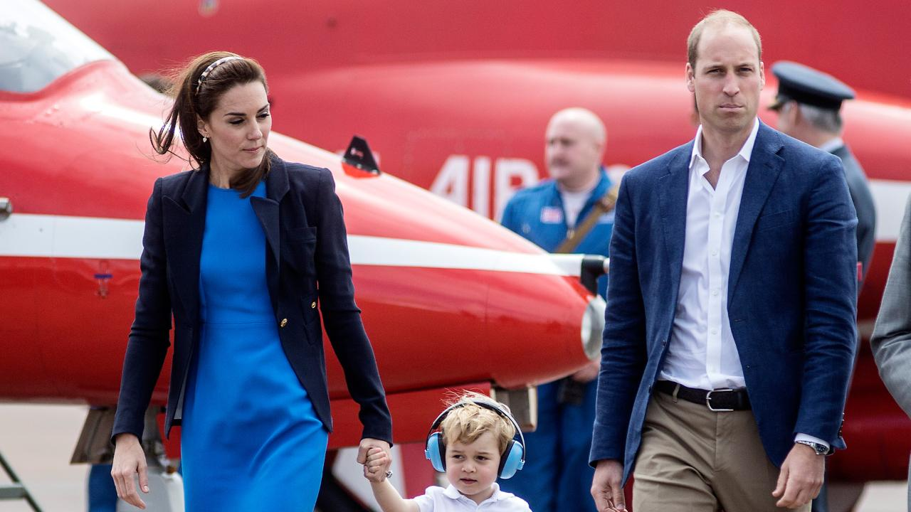Take Your Prince to Work Day! See All the Photos of Adorable George in Action at Air Show