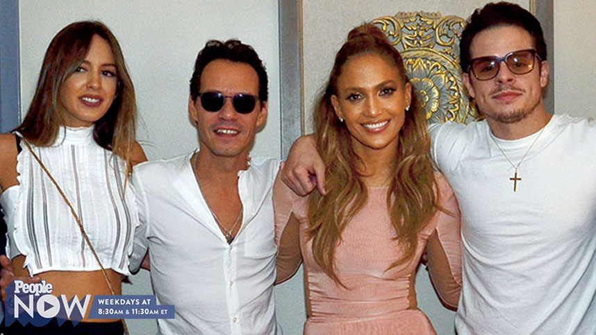 Jennifer Lopez's Exes Marc Anthony and Casper Smart Have Nothing But 'All Love' For Each Other images 0
