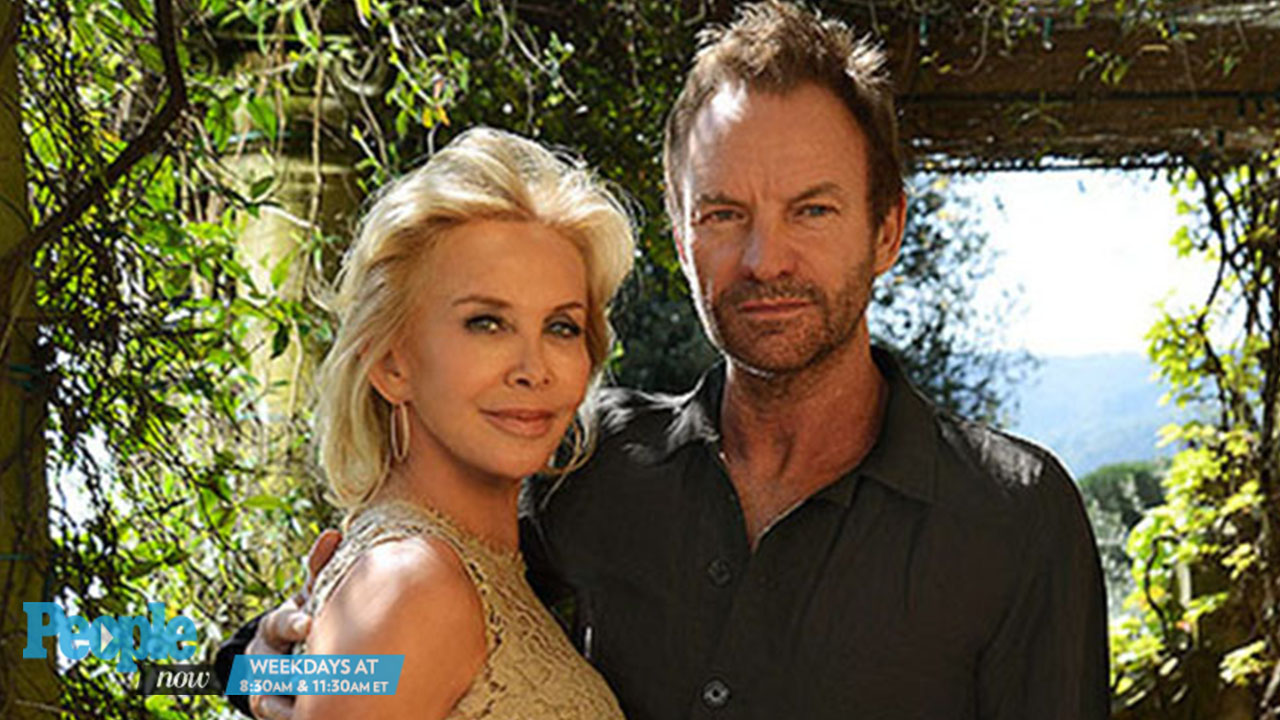 Sting Still Can't Help Gushing About Wife Trudie Styler: 'She Rocks Me'