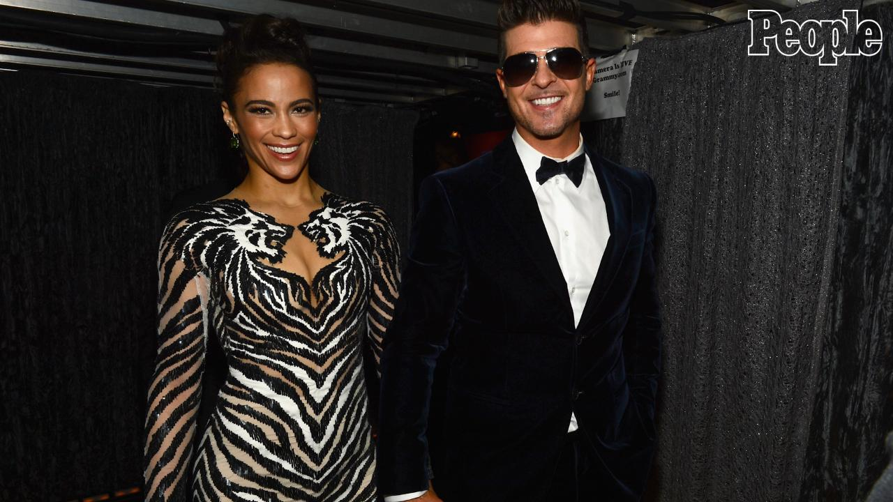 Paula Patton Moved Forward with Robin Thicke Custody Battle to 'Fight Back' and 'Protect Her Son': Source