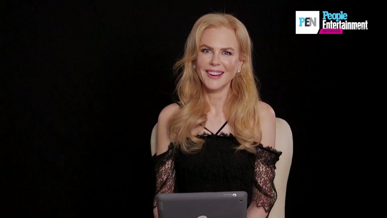 WATCH: What's Nicole Kidman Really Thinking When the Camera Cuts to Her at Award Shows?
