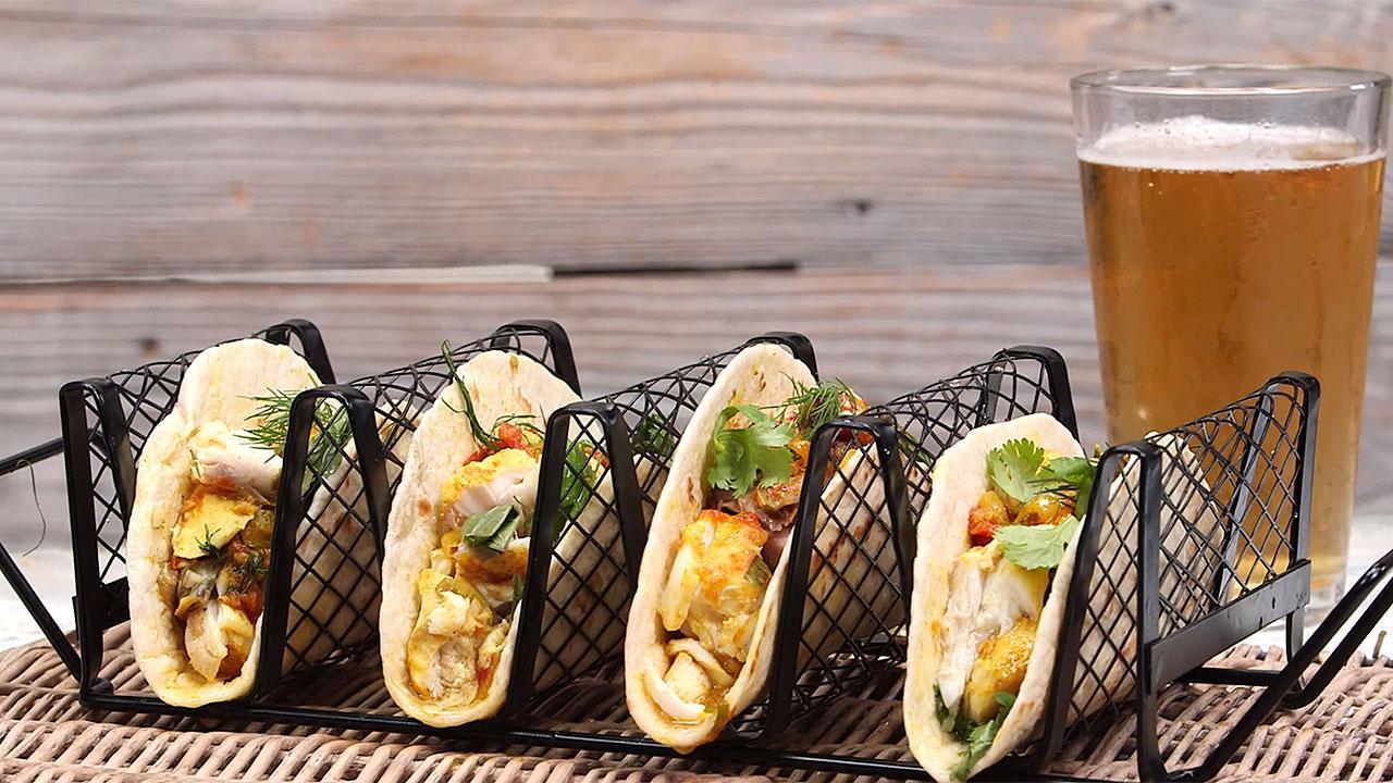 Dale Talde's Vietnamese Fish Tacos Taste Like Vacation — Get the Recipe