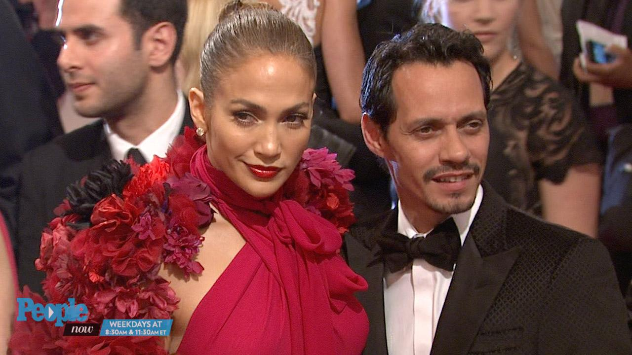 'Surrounded by Love': J Lo Shares Sweet Photo of Ex Marc Anthony with His Kids After the Death of His Mom