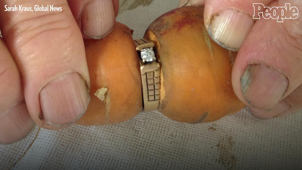 Woman Loses Her Engagement Ring in Garden, Finds It 13 Years Later Wrapped Around a Carrot