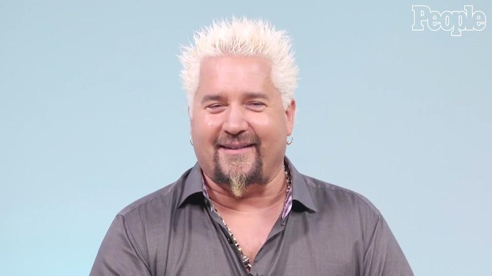 Guy Fieri 'Upgraded' His Wife's Favorite Beef and Noodles Dish With This One Ingredient