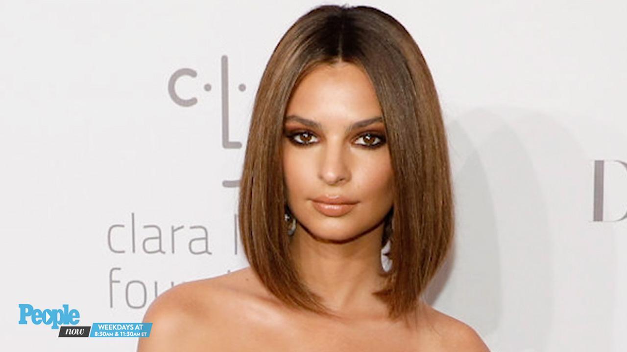 Emily Ratajkowski Debuts New Lob and Fresh Hair Color at Rihanna's Diamond Ball