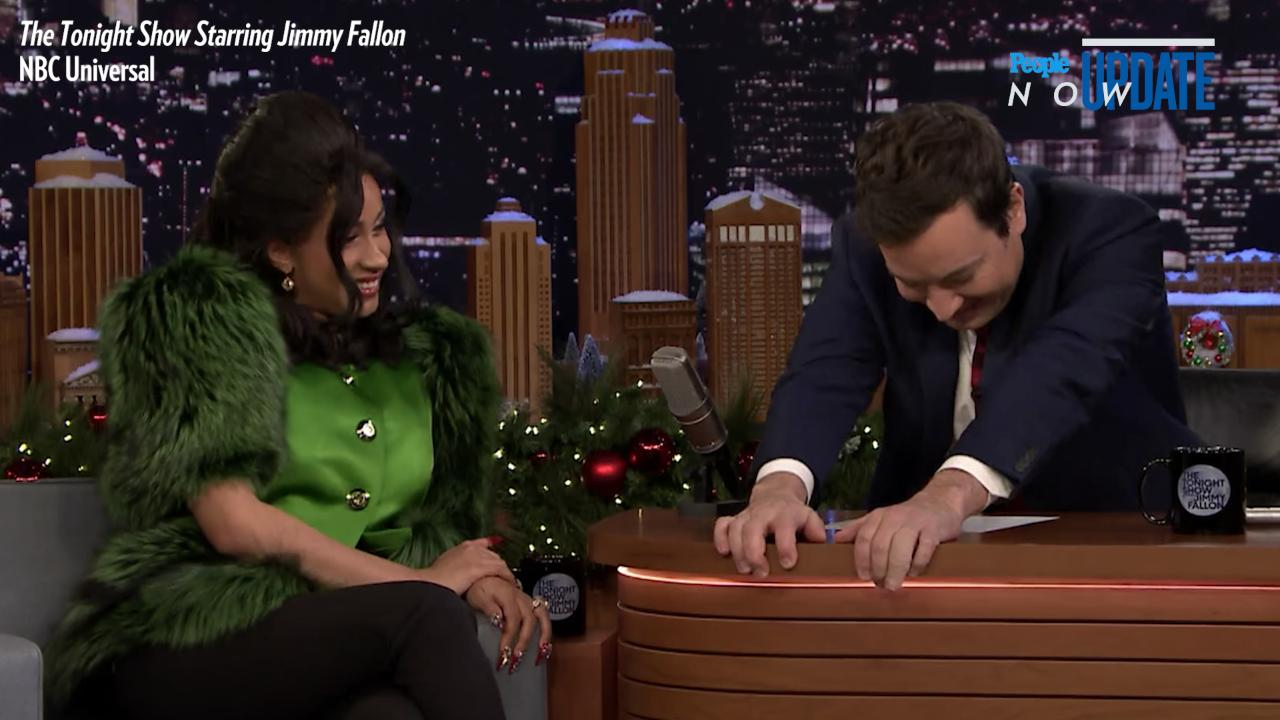 Jimmy Fallon Cannot Contain His Laughter as Cardi B Explains Her Name in Hilarious Interview