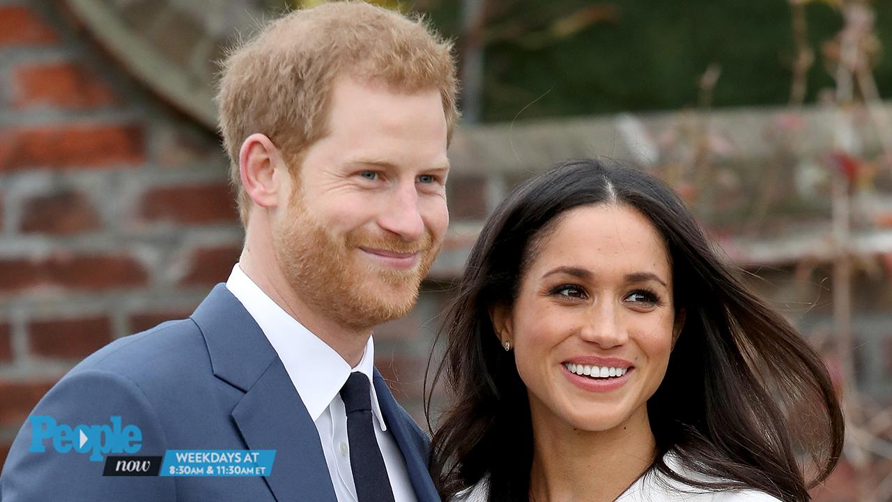 Prince Harry and Meghan Markle at Cardiff Castle in Wales ...