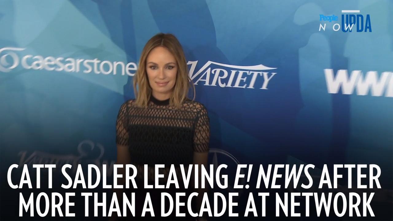 Catt Sadler Says Jennifer Lawrence Was One of Her Biggest Supporters After She Left E! News