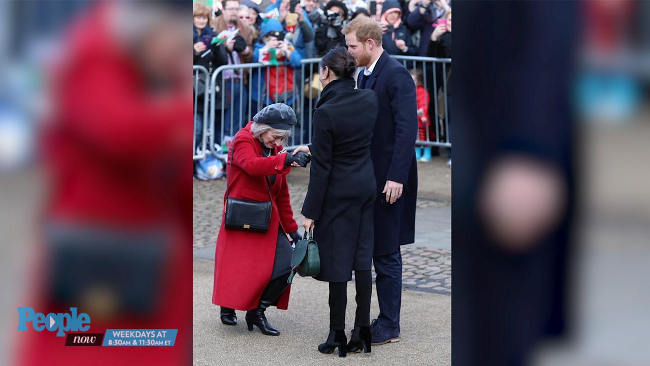 See Kate Middleton's Perfect Curtsy to the Queen on Easter with Prince William and Royal Family