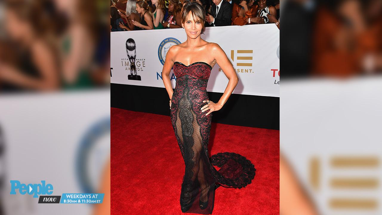 Halle Berry Goes Bra-Free in a White Tank Top as She Shares Photo of Herself Dancing in the Rain