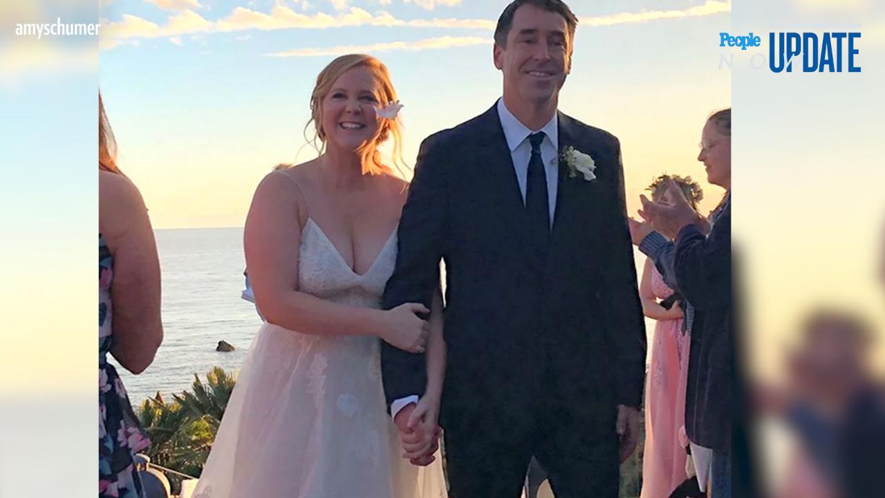 Amy Schumer marries chef Chris Fischer in Malibu wedding