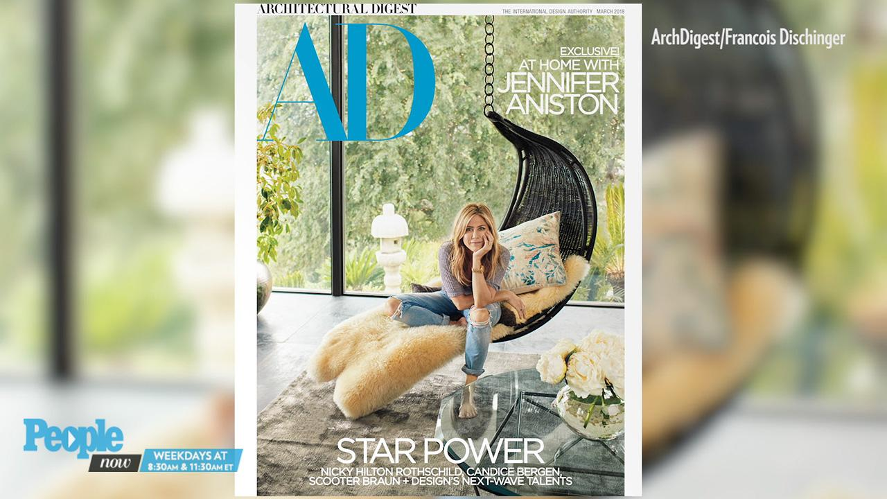 Jennifer Aniston Gives a Tour of Her $21 Million Dollar Home: 'There's Nowhere Else I Want to Be'