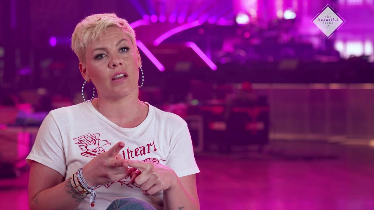 Pink Responds to 'Disgusting' Trolls Criticizing Photo of Son, 2, Without Diaper
