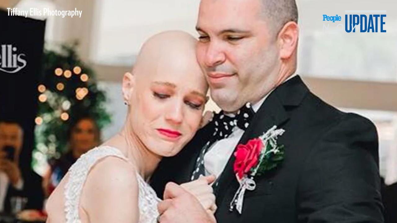 Bride with Stage 4 Cancer Lives to See Wedding Day After Doctors Urged Her to Move Up Ceremony