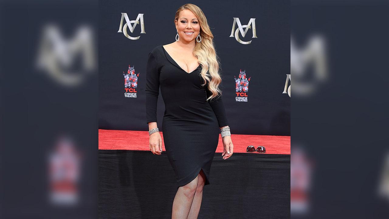 Mariah Carey, 48, Rocks Sparkly Pink String Bikini While Vacationing in St. Barts