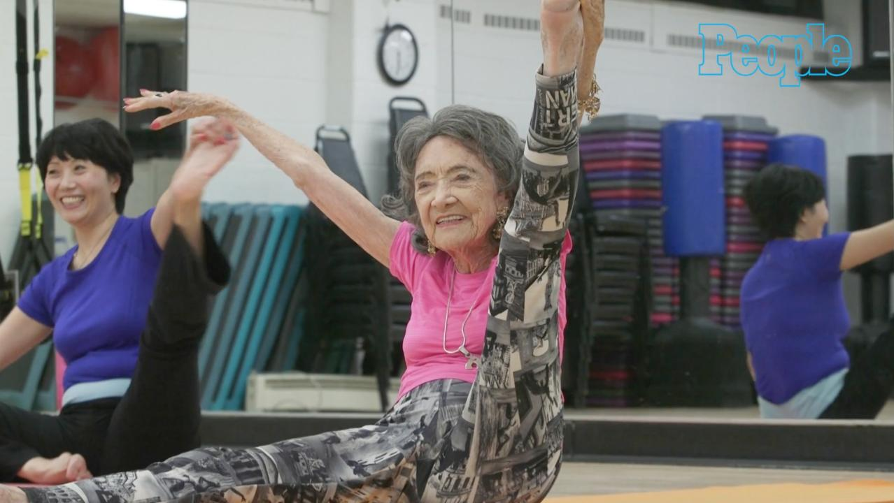 World's Oldest Yoga Teacher Shares Her Tips for a Long, Happy Life