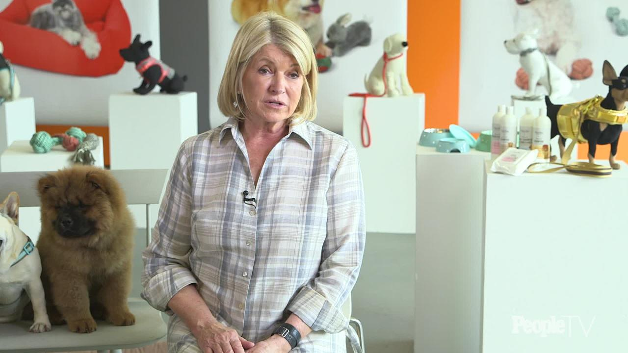 Martha Stewart, Mom to More Than a Dozen Animals, Will Do Anything for Her Pets But Bake