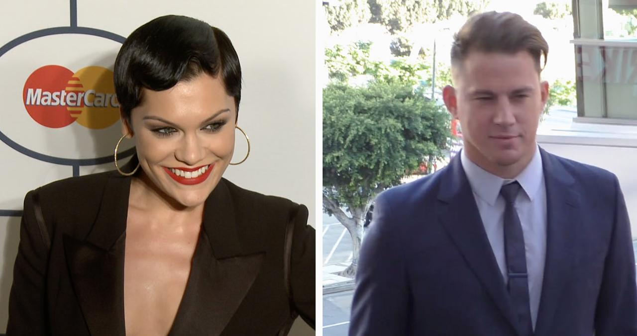 Channing Tatum Posts Flirty Comment on Jessie J's Instagram: 'Can I Be' Your 'Snack?'