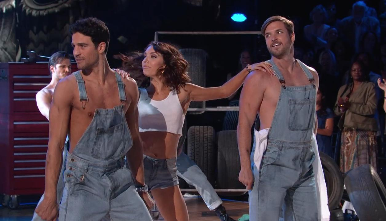 Joe Amabile Delivers 'Sexy' Magic Mike-Esque DWTS Salsa — Featuring BiP's Jordan Kimball!