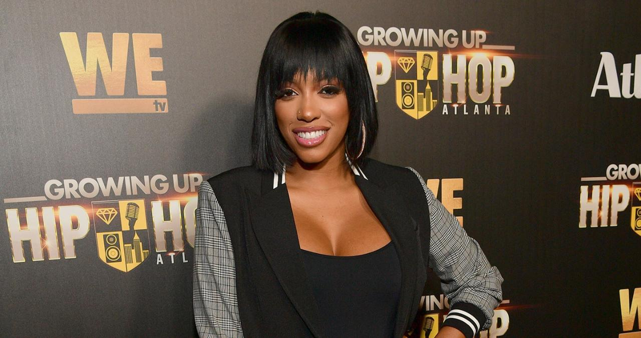RHOA Star Porsha Williams Shares Adorable Video of 8-Week-Old Daughter Pilar Getting a Bath